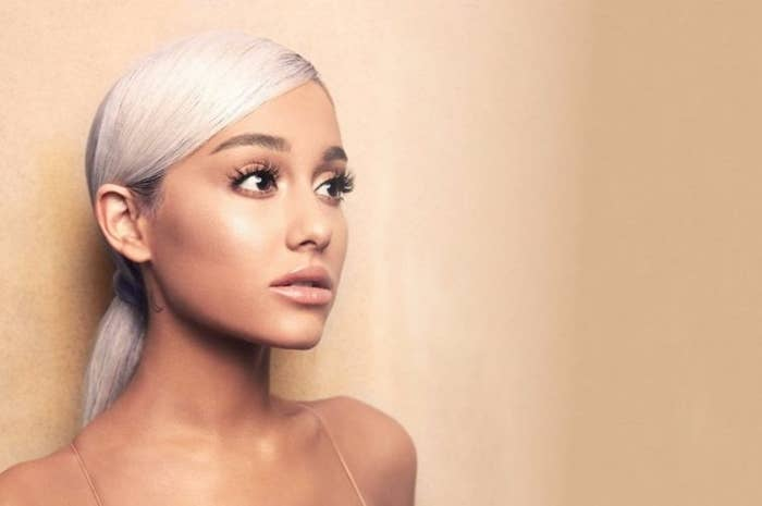 (This is not actually me, it's the famous pop star Ariana Grande. She had quite a year!)