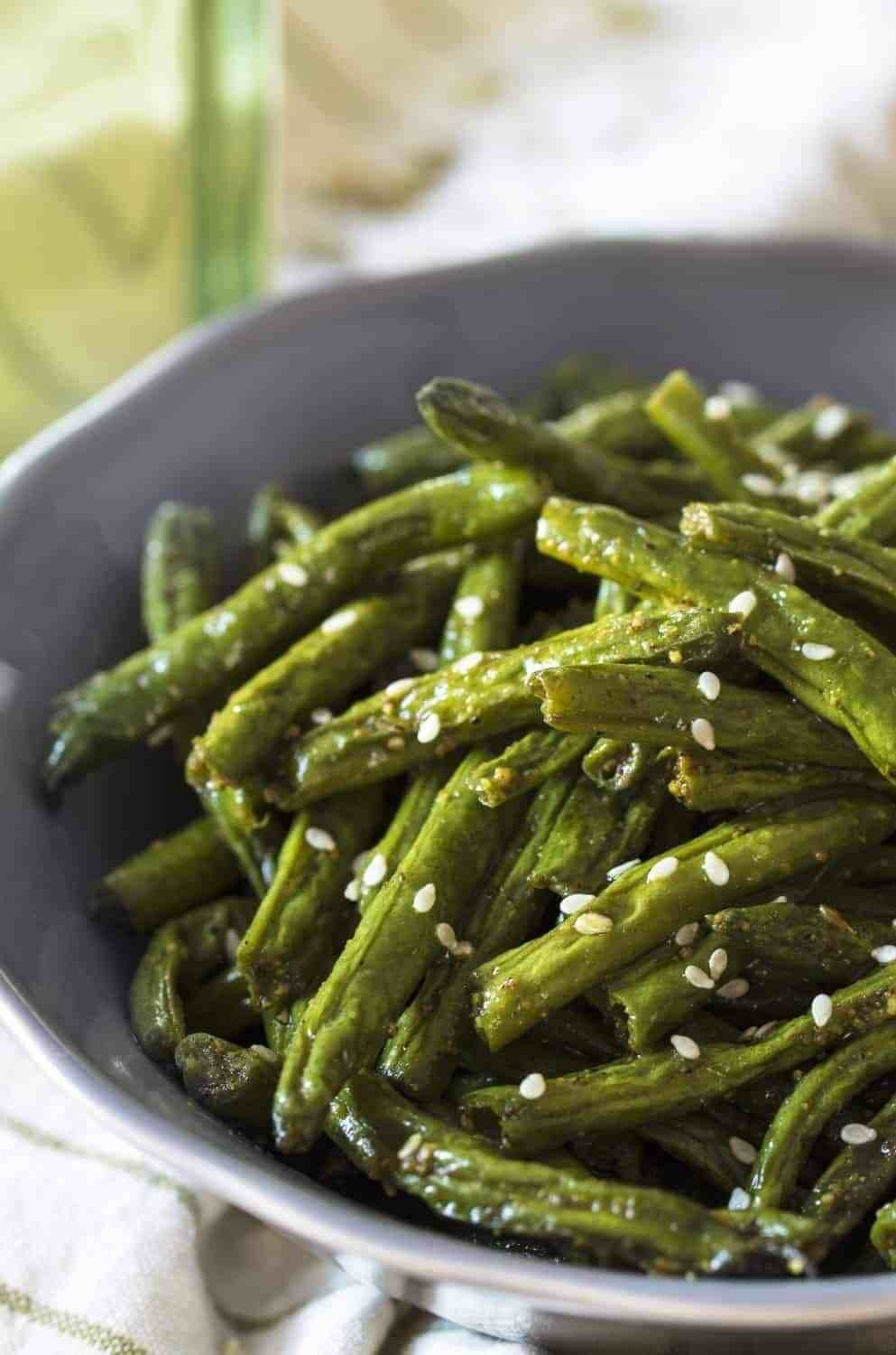 Shawarma Spiced Green Beans  -  And if you're short on time, you can simply used store-bought shawarma spice mix.