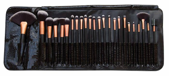 This 24-piece set comes in a sleek pouch, and all the brushes are made from synthetic fibres. It's a great gift for anyone who wants to take their makeup to the next level, or wants to experiment a little more on their day to day look. Get it on Amazon, £24.99