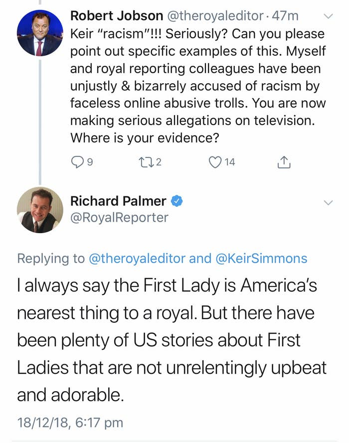 British Royal Reporters Have Been Accused Of Racism Towards Meghan