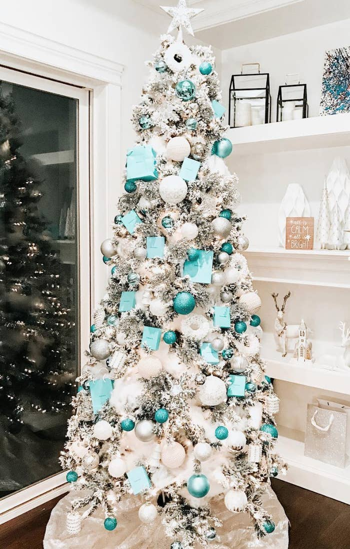 Turquoise Christmas Tree.39 Aesthetically Pleasing Christmas Trees That Ll Make You Say Goals
