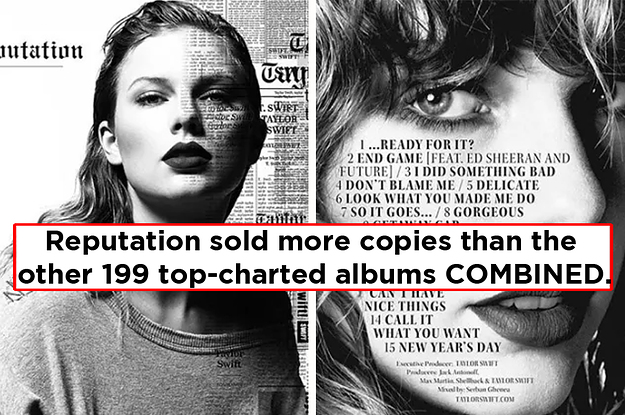 """13 Facts For Everyone Who Thinks Taylor Swift's """"Reputation"""" Flopped"""