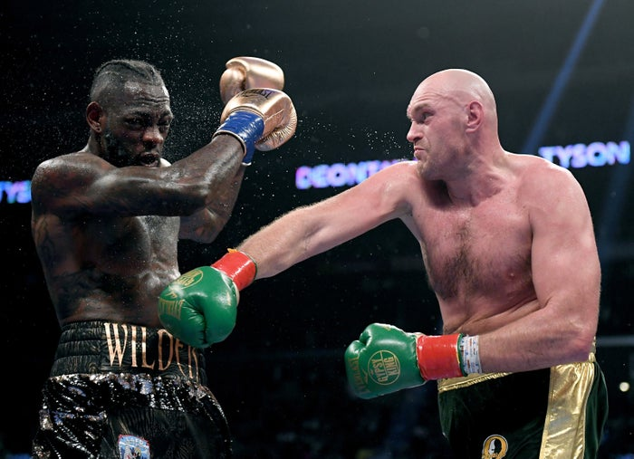 Deontay Wilder And Tyson Fury S Boxing Match Ended In A Draw And The