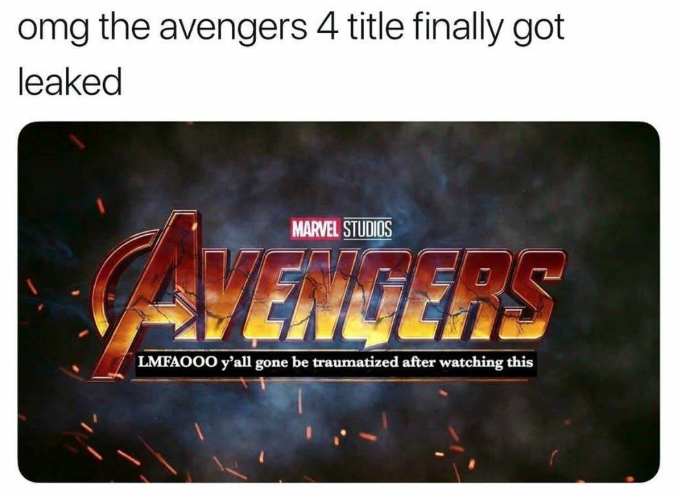 Marvel Memes: 100 Of The Funniest From 2018