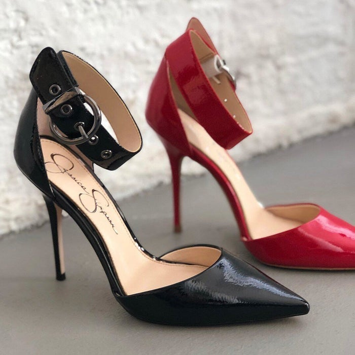 """Promising review: """"Probably one of the best pairs of heels on the market. Absolutely stunning!"""" —Michael Whitmore Get them from Amazon for $32.77+ (available in sizes 5-11 and in three colors)."""