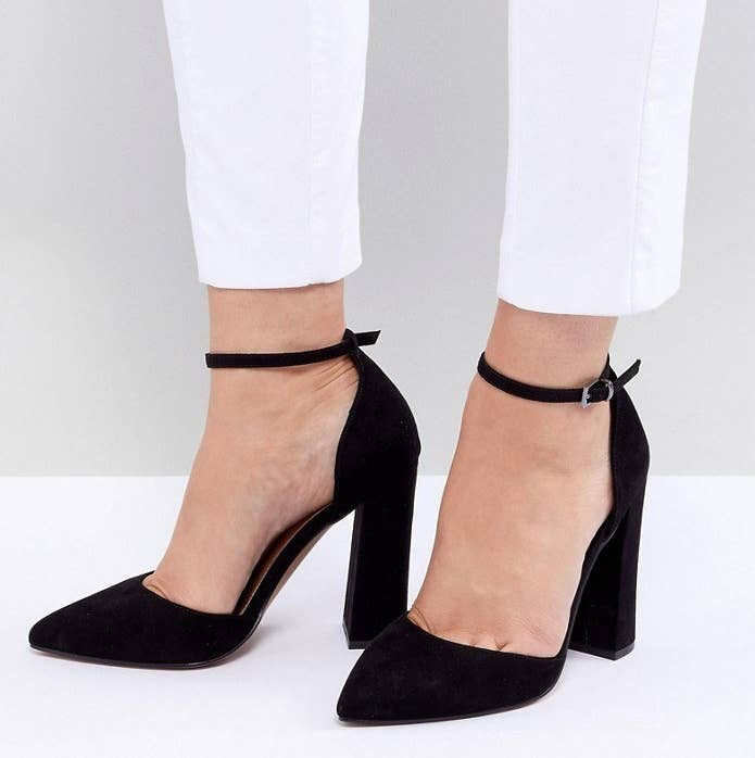 4e8b68f8e73 High heels you can easily wear to the office AND the much-needed happy hour  after you ve spent prime daylight hours sitting in your cubicle.