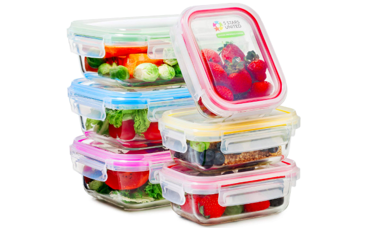 Throwing away spoiled groceries is a painful experience. One way to prevent this dreaded moment and keep them fresh is to store them in airtight food storage containers. For fresh greens, storing them with a paper towel inside the container can keep them fresh longer, while rolling herbs in paper towels and storing the bundles in the containers helps extend their shelf life.Get a set of six food storage containers on Amazon for $21.99.