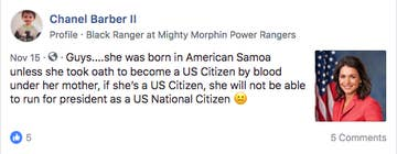 Tulsi Gabbard Was Born In American Samoa  Her Presidential