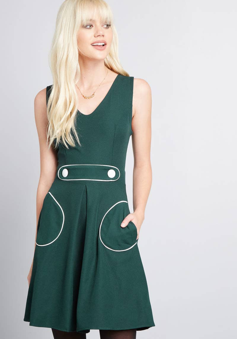 Get it from ModCloth for $54.99 (available in two colors and sizes XS–XL).