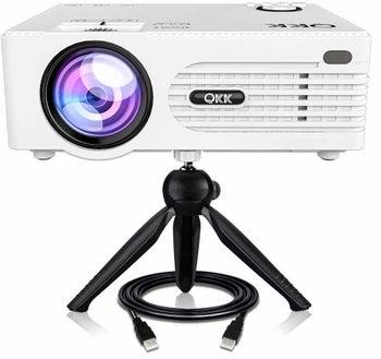 a white projector box
