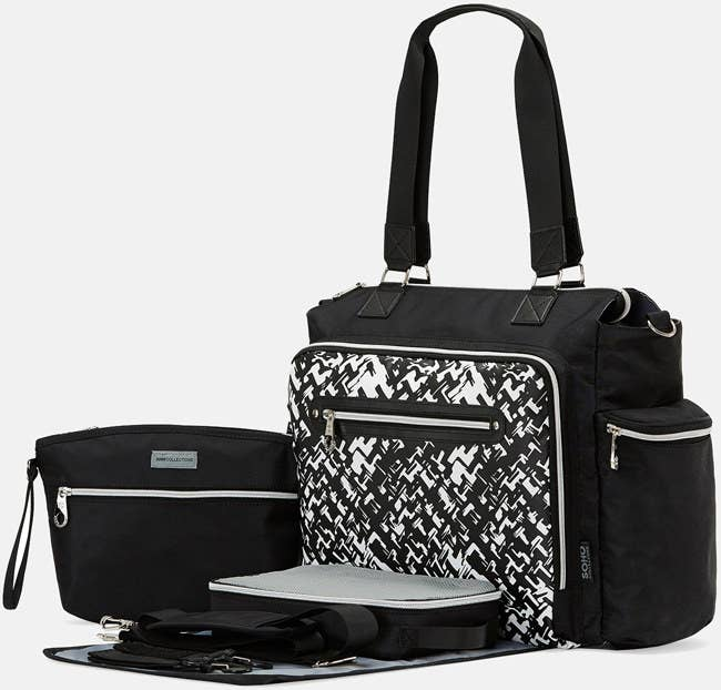A five-piece bag set that will have people convinced you took it off the  walls of a modern art museum. d7ebd925a7e52