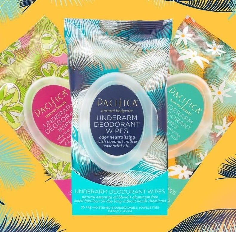"""Promising review: """"I have always suffered from bad odor on my underarms because I have very delicate skin, so I can't use strongly-scented deodorants. I'm always trying out cream deodorant or gels, but it either irritates my skin or it doesn't stop my bad odor. THIS IS THE BEST INVENTION EVER. I LOVE IT! I can't believe that something finally works! My armpits don't smell bad; I can finally move my arms freely. The scent is wonderful, I love the smell, and it is not harsh on my skin. Even after a long day, my underarms are still smelling like coconut."""" —Patricia Get it from Amazon for $8.54."""