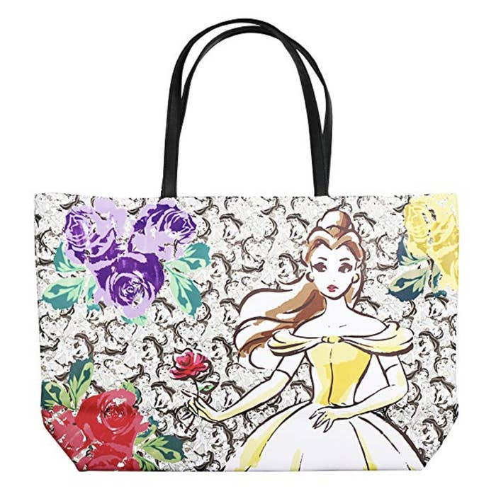 A dreamy Disney Princess tote that you ll be able to fit all the essentials  in during your next adventure (to Disneyland or elsewhere!) a87765a5d8ba2