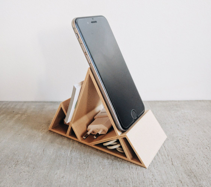 Get it from MinimumDesign on Etsy for $34.19.Find another creative phone storage solution on Amazon for $14.99 (available in beech and walnut).