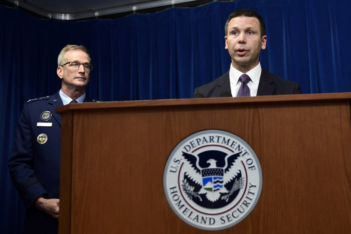 US Customs and Border Protection Commissioner Kevin McAleenan