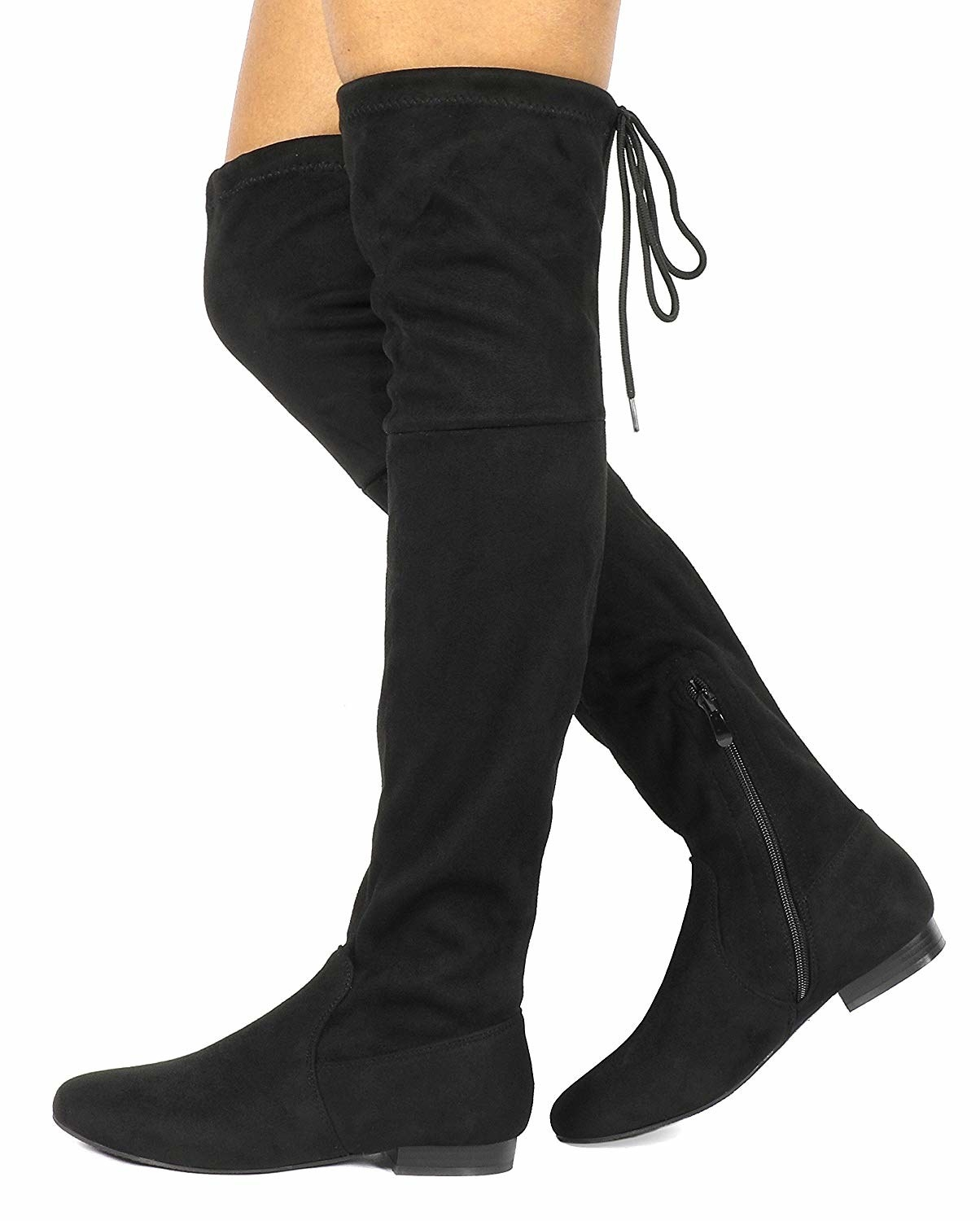 f72311302dc84 Over-the-knee boots you might be tempted to wear every single day. Should  you? Absolutely. It's your life. Live your truth.
