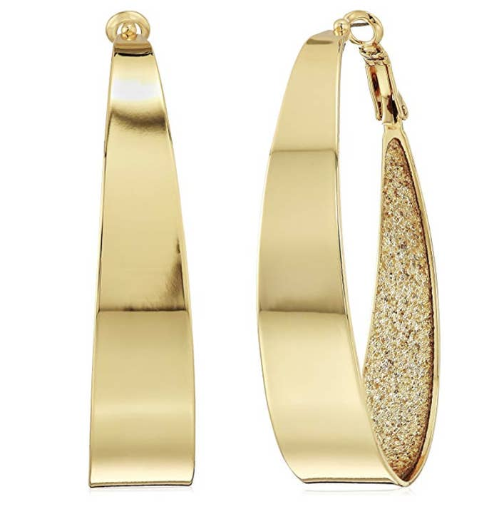 5f50ff13f Glitzy oversized hoop earrings, because when it comes to hoops everyone  knows the bigger the better!