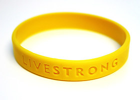 A charity wristband