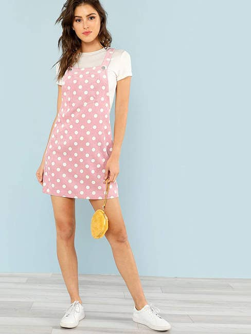 """Promising review: """"This dress fits perfectly and is super cute and fun to wear. For reference, I'm 5'10"""" and usually wear a size 6 or 8 in dresses and I ordered a large. It's a great length and the perfect amount of fitted."""" —Camille Price: $14.99+ (available in sizes XS-XL and in 23 colors)"""