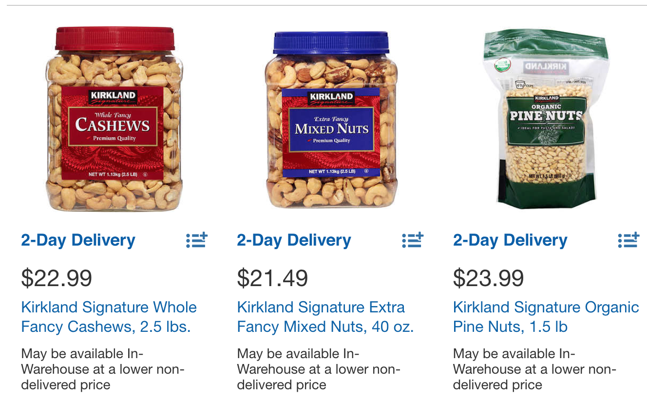 Nuts are glorious (especially the macadamia ones), and it is 100% okay to spend $24 on them.