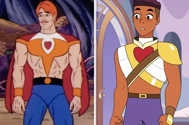 Heres What The New She Ra Characters Look Like Compared To The