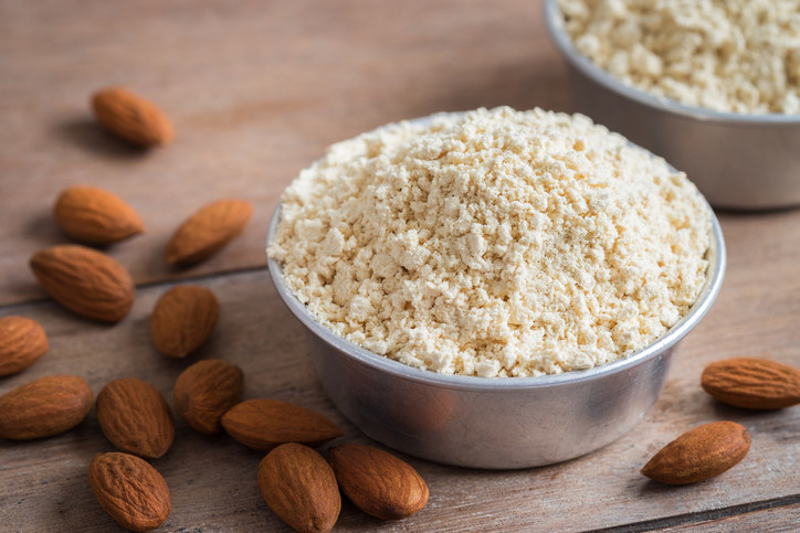 Try using nut flours (such as almond flour) in place of wheat flour — but not for everything. -  Unlike gluten-free flour blends (which are designed to mimic wheat flour), nut flours are just ground nuts without any functional ingredients.