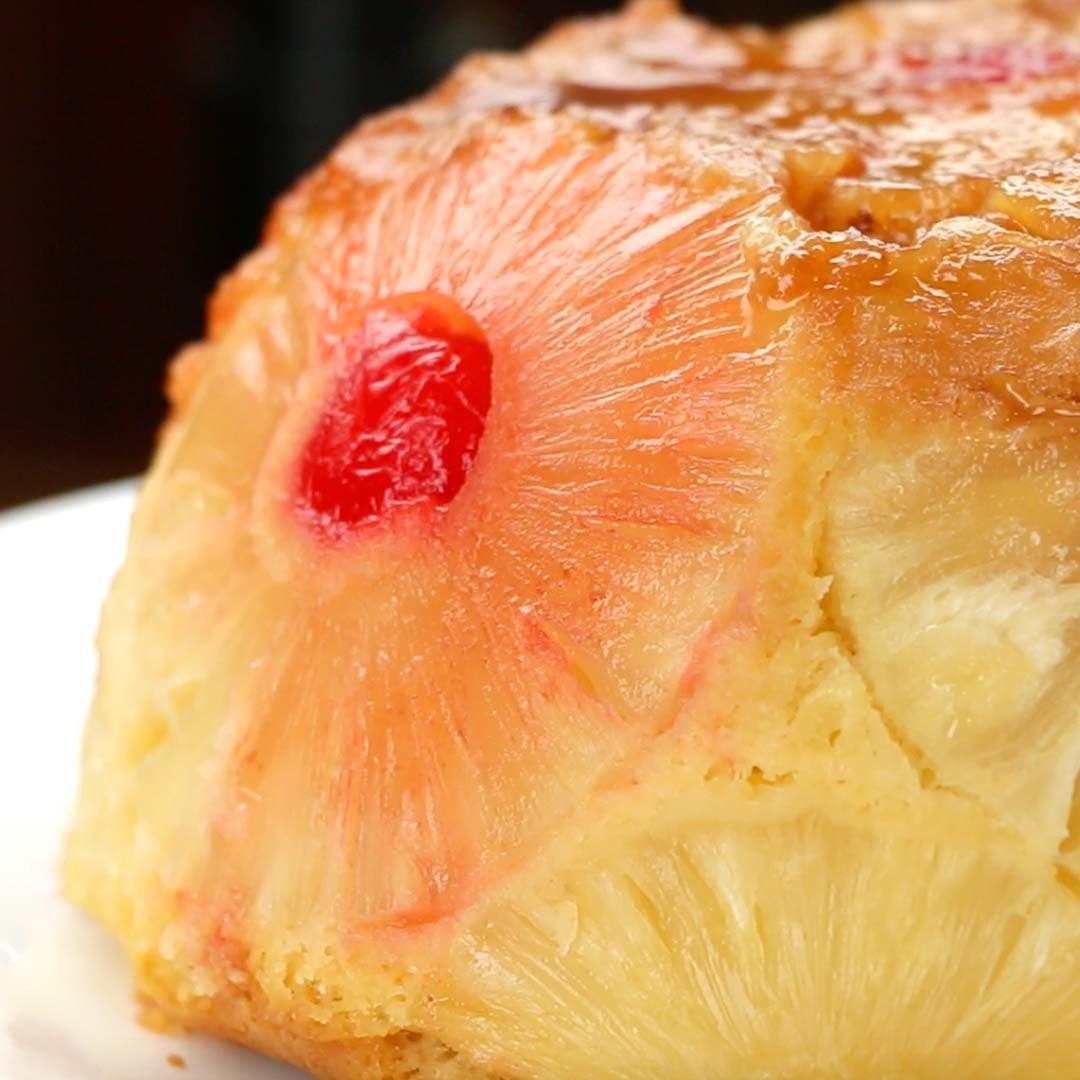 Upside-Down Dome Cake