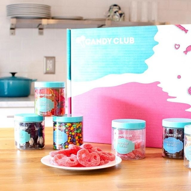You can send your hungry recipient all types of sweets, from gummies to taffy to licorice to chocolate covered everything. Get it from Candy Club for $29.99+/month.See more gifts for the person with a sweet tooth.
