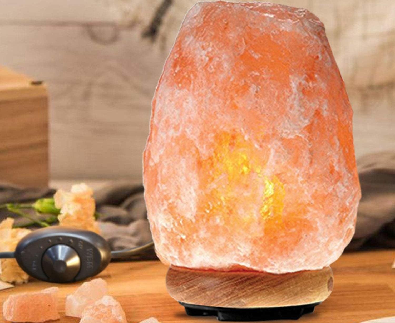 The Himalayan salt lamp