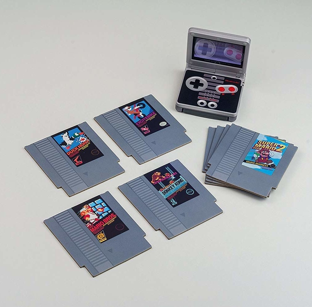 nes game coasters