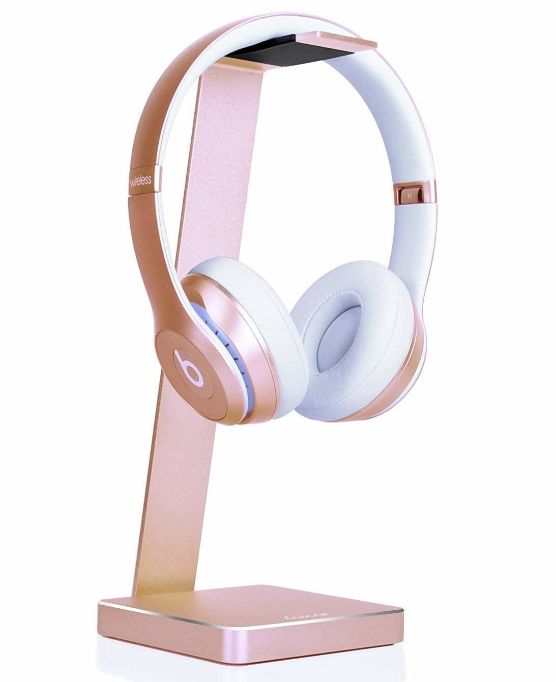 rose gold headphones stand