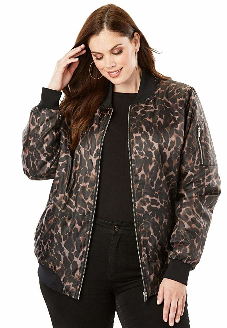 ef449604d8a A bold bomber jacket that s truly the bomb dot com. Share On Facebook Share  ...