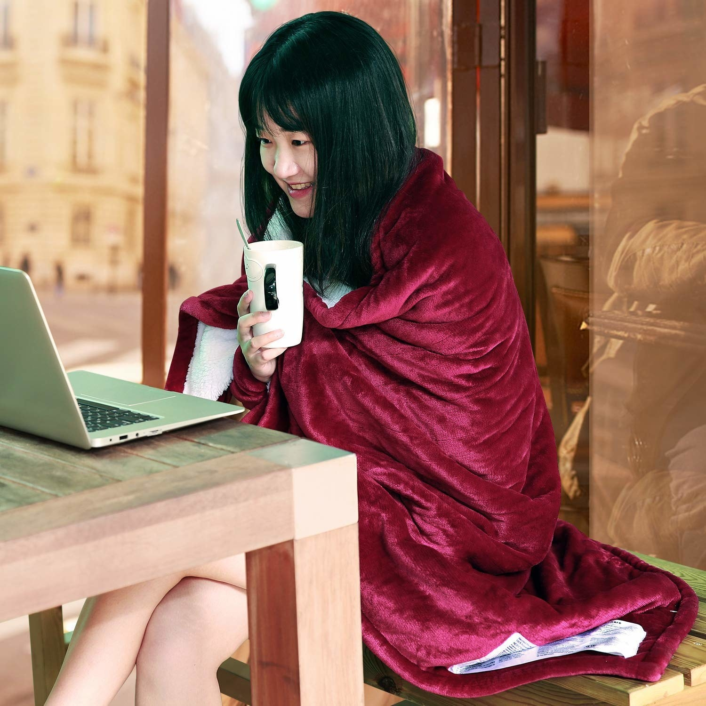 Model using blanket