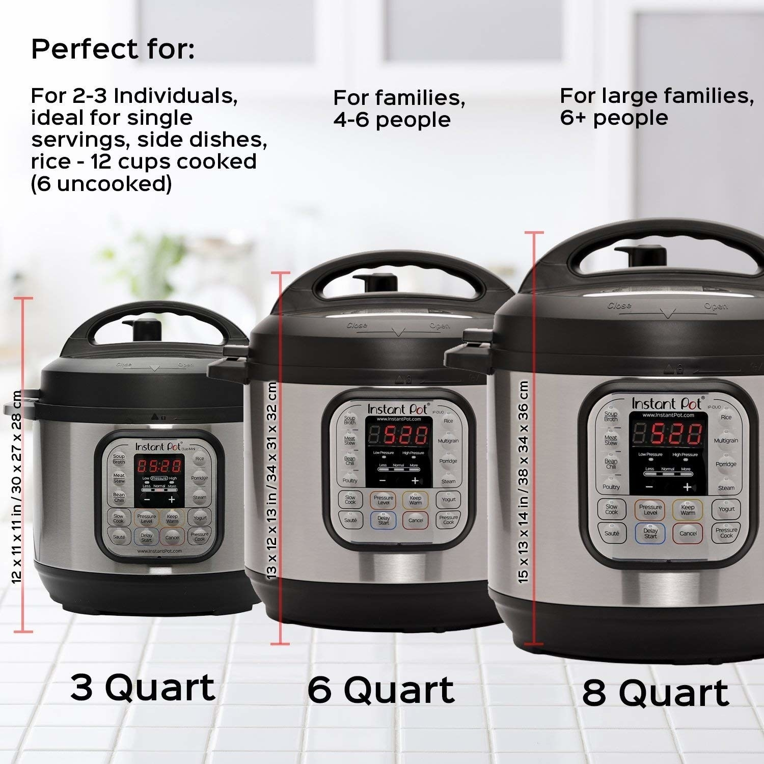 """It's a pressure cooker, slow cooker, rice cooker, steamer, sauté pan, yogurt maker, and food warmer all rolled into one nifty appliance. Check out a BuzzFeeder's review of the Instant Pot for all the deets!Promising review: """"I have owned my Duo for over a year now, and I have used it at least five times each week. For cooking pasta, it's a 'set it and forget it' appliance. Dump in pasta, sauce, meatballs, and water. Set the time and go off to fold laundry, pack lunches, or whatever else needs to get done before bed. No more standing over the stove or stirring. Roasts come out great, with potatoes soaking in all the amazing juices at the same time. Cheesecakes are easier than ever. The best part is that there's no cleanup and no hot kitchen, like cooking with an oven. The stainless steel liner just goes straight into the dishwasher, saving busy families even more precious time. I have since added another Instant Pot to my collection and purchased five as gifts for family and friends."""" —Elissa SpicerGet it from Amazon for $63.99+ (available in three sizes).For more like this, check out our """"The Best Gifts Under $100 To Give In 2018"""" gift guide."""