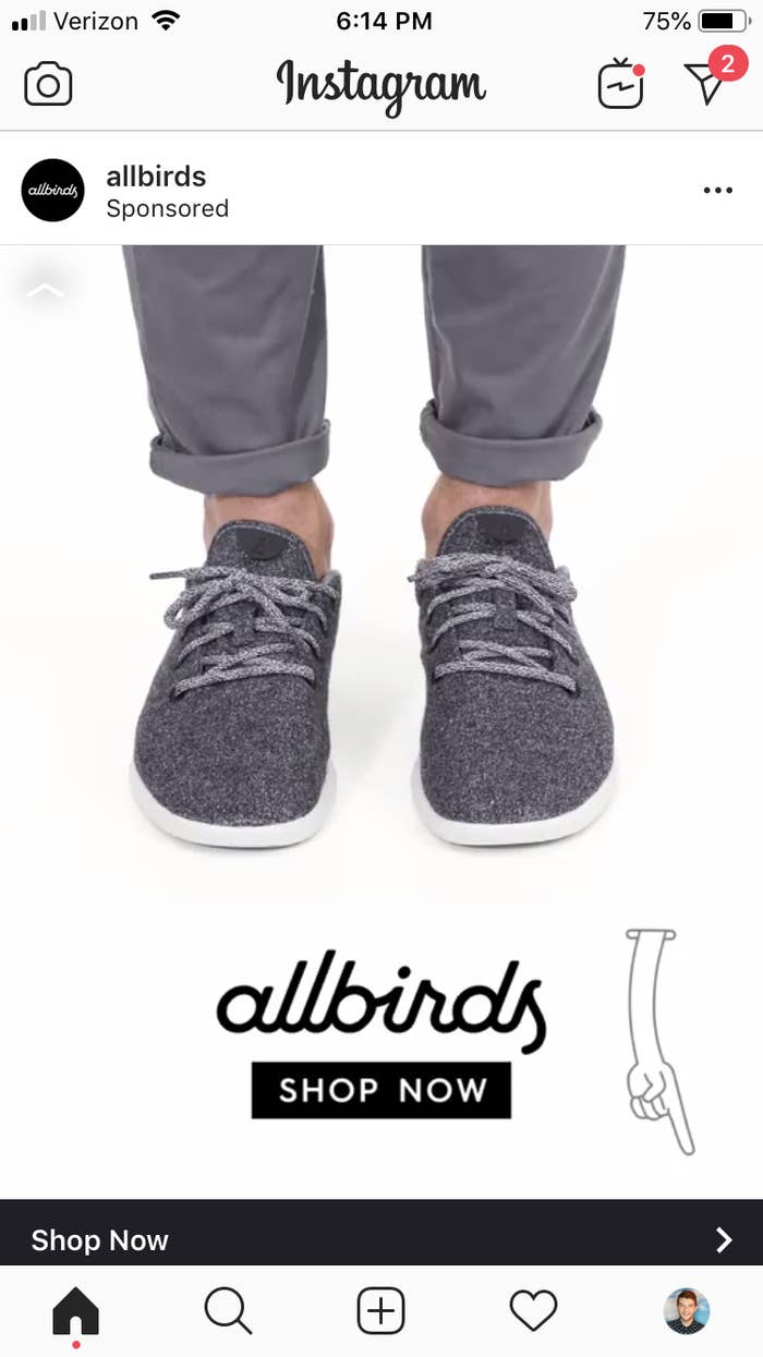 ffa1bd4aec1 I Tried Allbirds — The Shoes That Are All Over Instagram — And ...
