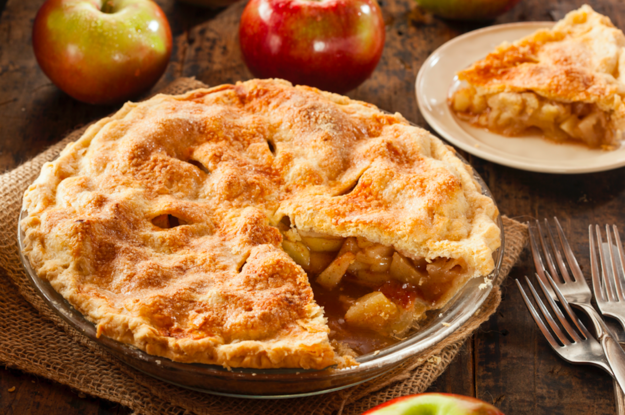 It's an apple pie!