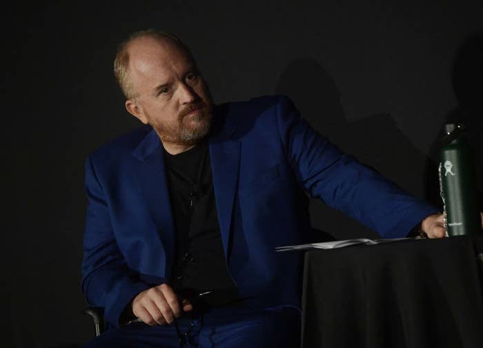 Louis C.K. on Sept. 22, 2017, in New York City.