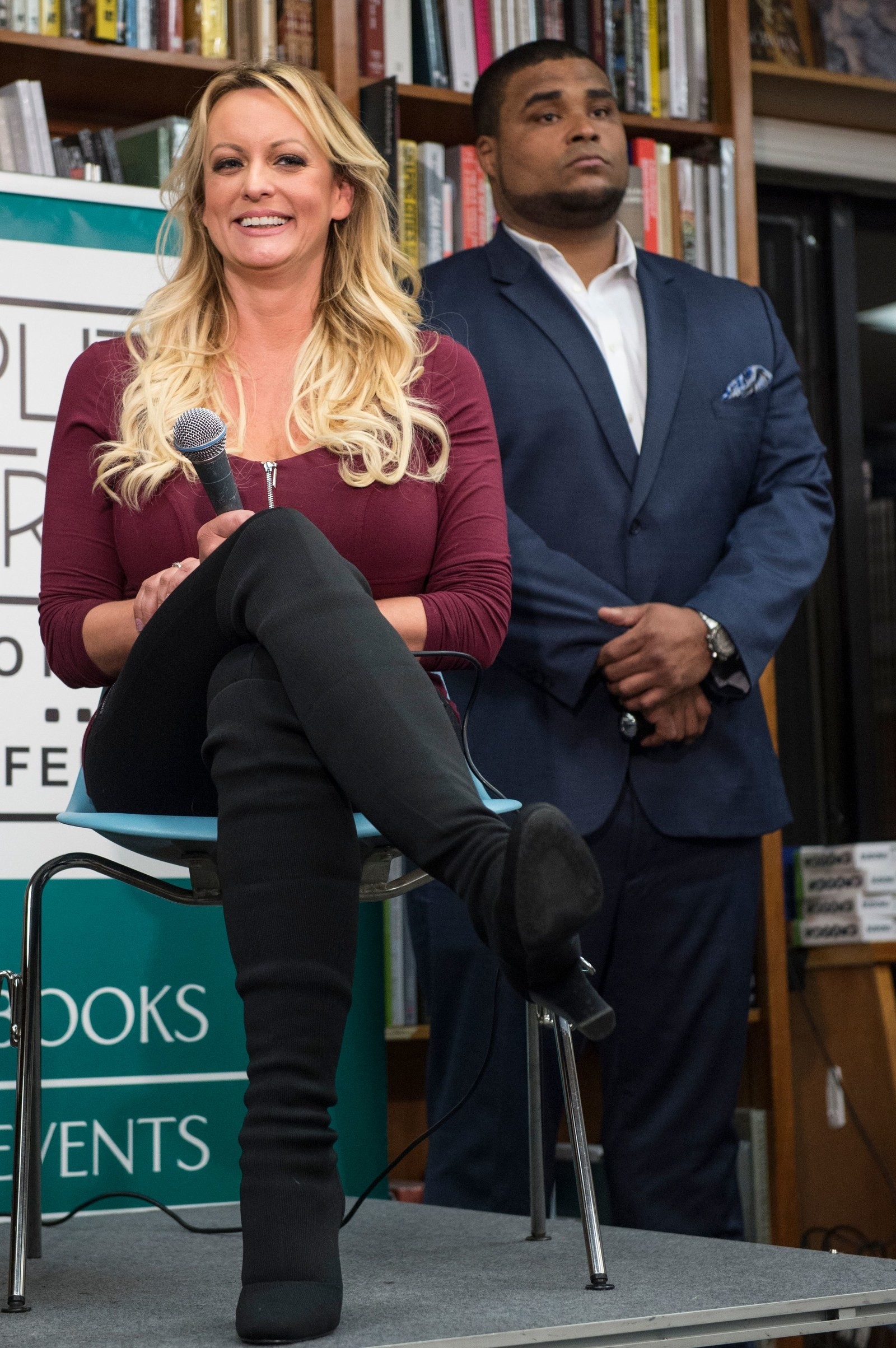 Stormy Daniels' DC Stop On Her Book Tour Was A Perfect Encapsulation of 2018
