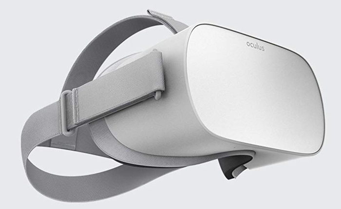 """That standalone feature means you don't need anything else to jump in on the action — no smartphone, no super quick computer, no cords cluttering your space. But if you're into that sort of thing (and want the mobile freedom of a more """"serious"""" gamer) you can get the Oculus Rift for $399."""