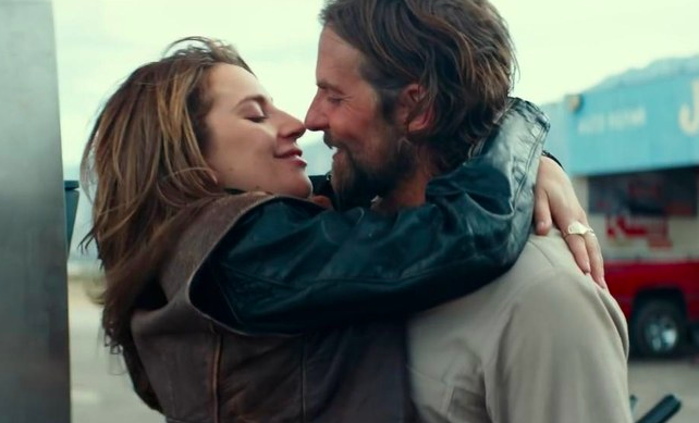 """Bradley Cooper improvised the """"ugly"""" line during the argument scene in A Star Is Born  , and it """"devastated"""" Lady Gaga. -  """"That wasn't an actor trying to get something out of another actor,""""  Cooper  said."""