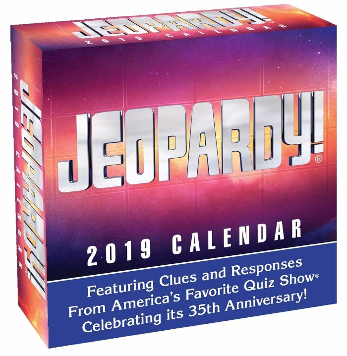 "And you're going to want to buy it for decades to come — according to an Amazon question answerer, ""I cannot tell you exactly how many years we've been using/enjoying this calendar—perhaps 30—and don't recall any repeats.""Get it from Amazon for $9.94."