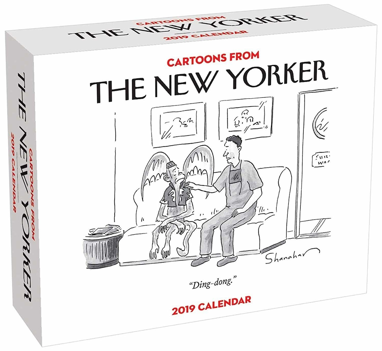 And A 2019 New Yorker Cartoon Calendar Because Laughter Keeping On Schedule Is The Best Gift Of All 3