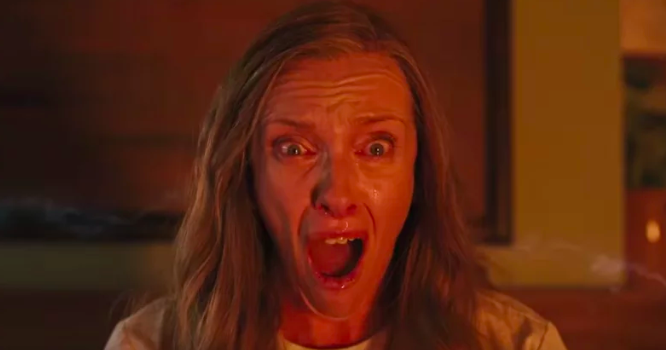 """Toni Collette almost didn't do Hereditary because she was tired of doing """"heavy"""" films all the time. -  """"I had specifically said, 'I'm sick of heavy, I don't want to cry all the time at work anymore.  I want to make some funny movies ,'""""  Collette  said."""