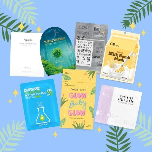 collection of sheet masks