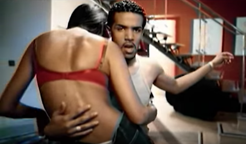 "David in the video for ""7 Days."""