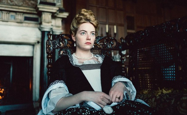 """The corsets Emma Stone wore while filming The Favourite were so tight (and historically accurate) that her organs physically shifted. -  """"For the first month I couldn't breathe, so I would smell menthol to make me think I was in a wide open space,""""  Stone  said."""