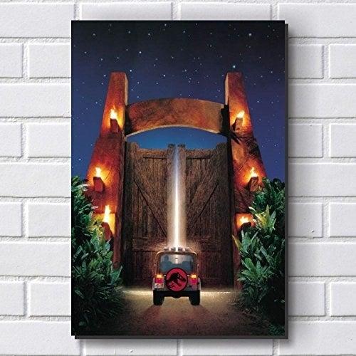 Todo fã deste clássico do Spielberg adoraria decorar a parede com uma imagem icônica como essa.