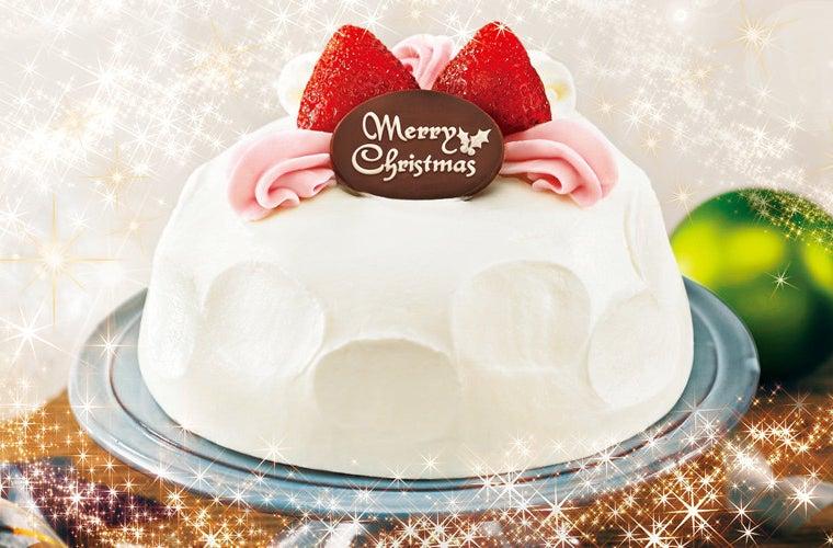 かまくらみたいに白くて丸いシンプルなケーキ。でも実は中がすごくて...