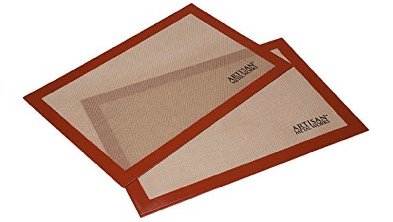 Mats are FDA- and LFGB-approved, BPA-free, and perfect for baking, roasting, and freezing.Get them from Walmart for $13.99 (originally $16.79).