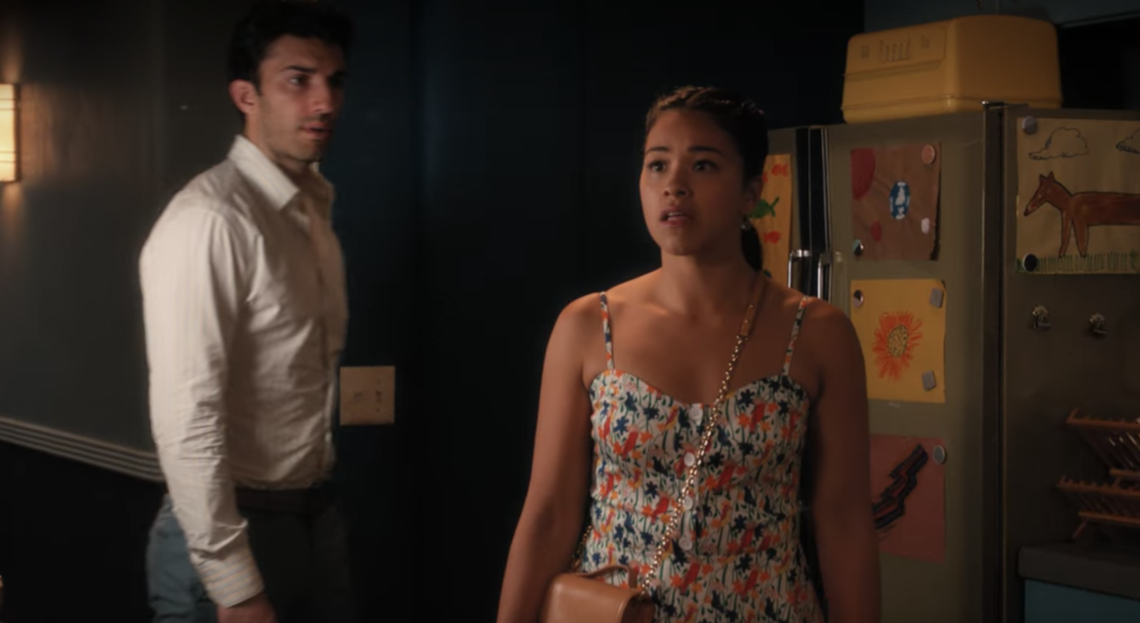 Jane The Virgin  delivered one of the craziest plot twists when Michael appeared ALIVE before Jane. -  Granted we still aren't sure if this is really Michael or another telenovela plot twist!